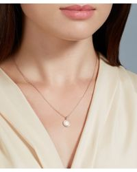 Astley Clarke | Pink Rose Gold Diamond Cosmos Pendent Necklace | Lyst
