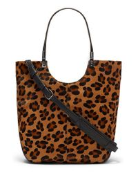 Elizabeth and James - Brown 'Cynnie' Convertible Shopper - Lyst