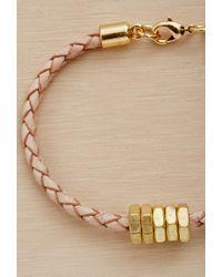 Forever 21 Metallic Half United The Honeybee Bracelet