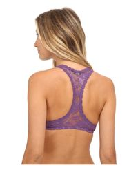 Cosabella | Purple Never Say Never Racie Racerback Bra Never1351 | Lyst