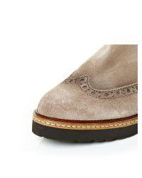 Moda In Pelle Natural Bertola Low Casual Short Boots