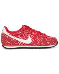 Nike - Red Women'S Genicco Print Casual Sneakers From Finish Line - Lyst