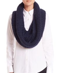 Stella McCartney | Blue Softly Clean Knit Snood | Lyst