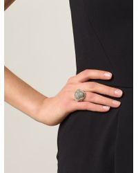 Vivienne Westwood - Metallic 'ryan' Ring - Lyst