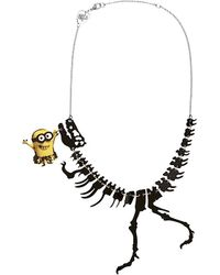 Tatty Devine | Metallic Minions Dinosaur Necklace | Lyst