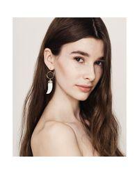 Jenny Bird - White Wildland Earrings - Lyst
