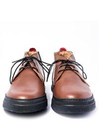 Oliver Spencer Natural Dark Beige Beat Chukka Boots for men