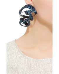 Rosie Assoulin | Blue Roxanne Assoulin For Swarovski Large Sculptural Earrings | Lyst