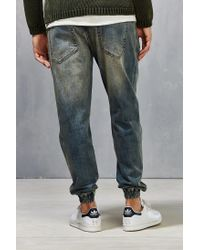 Timberland - Blue Pacific Denim Jogger for Men - Lyst