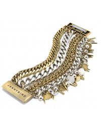 Jenny Bird Metallic Getty Cuff