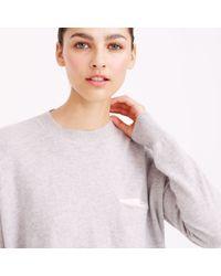 J.Crew - Pink Demylee Bennie Cashmere Sweater - Lyst
