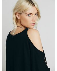 Free People | Black We The Free Womens We The Free Lily Tee | Lyst