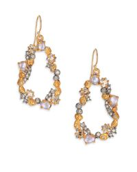 Alexis Bittar | Metallic Elements Moonlight Crystal Mosaic Link Drop Earrings | Lyst
