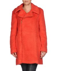 Marni - Red Coat - Lyst