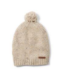 Polo Ralph Lauren - Natural Pom-pom Merino Wool–blend Hat for Men - Lyst