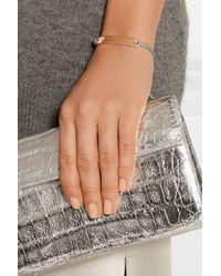 Monica Vinader - Pink Havana Rose Gold-plated Bracelet - Lyst