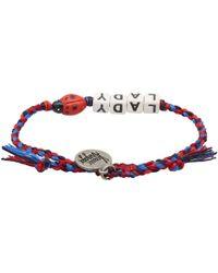 Venessa Arizaga - Multicolor Lady Bug Bracelet - Lyst