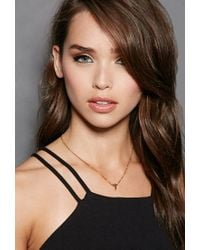 Forever 21 | Metallic Mala By Patty Rodriguez Initial J Necklace | Lyst