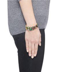 J.Crew - Multicolor Ombré Crystal Bracelet - Lyst