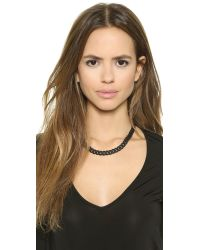 Marc By Marc Jacobs | Rubber Chain Necklace - Black | Lyst