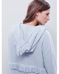 Free People - Blue Intimately Womens Fringe For Days Robe - Lyst