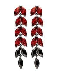 Dyrberg/Kern | Red Lilas Earrings | Lyst