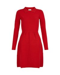 Hobbs Red Hanna Dress