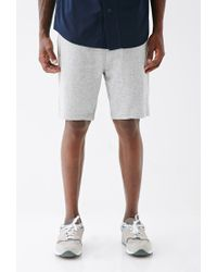 Forever 21 - Gray Speckled Zip-pocket Sweatshorts for Men - Lyst