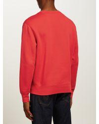 Polo Ralph Lauren Red Fleece Sweatshirt for men