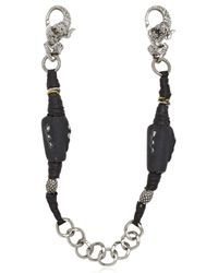 KD2024 - Metallic Painted Chain Eclipse Bracelet - Lyst