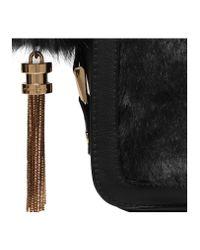 Carvela Kurt Geiger Black Cale X Body Fur Bag