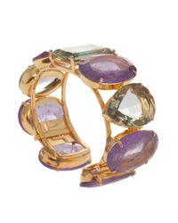 Bounkit - Multicolor Amethyst Crystal Braclet - Lyst
