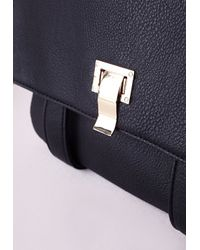 Missguided - Formal Backpack Black - Lyst
