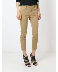 DSquared² - Natural 'glam Rock' Jeans - Lyst