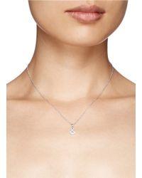 Khai Khai | Metallic 'and &' Diamond Pendant Necklace | Lyst