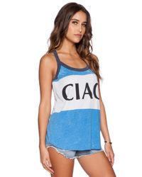Chaser Blue Ciao Tank