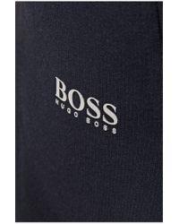 BOSS Green Blue 'halvo' Cotton Tracksuit Bottoms for men
