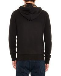 Burberry Brit Black Pearce Zip-Up Hooded Sweatshirt for men