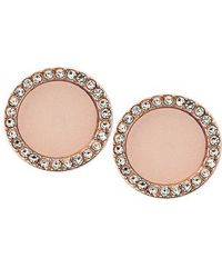 Michael Kors | Pink Mkj4329791 Ladies Earrings | Lyst