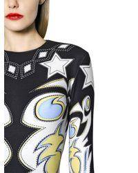 Maria Escoté - Multicolor Cowgirl Printed Stretch Jersey Dress - Lyst