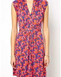 French Connection - Pink Fast Fredia Floral Dress - Lyst