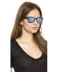 Ray-Ban Blue Cosmo Saturn Sunglasses - Metallic Pink