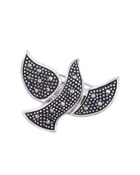 Lord & Taylor | Metallic Sterling Silver And Marcasite Dove Pin | Lyst