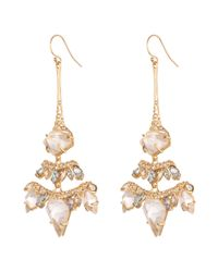 Alexis Bittar - Metallic Jagged Diamond Chandelier Earring You Might Also Like - Lyst