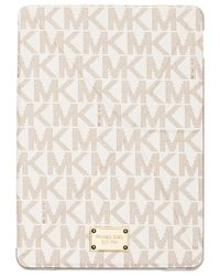 Michael Kors | White Michael Electronics Tablet Origami Case | Lyst