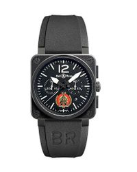Bell & Ross Black Limited Edition Tornato Chrono Watch for men