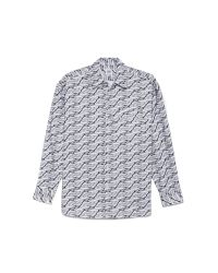 Opening Ceremony Gray Magpie Oxford Pocket Shirt for men