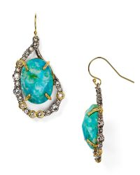 Alexis Bittar | Blue Elements Crystal Embellished Drop Earrings | Lyst