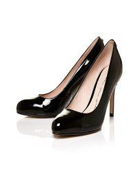 Moda In Pelle Black Cazelle High Smart Shoes