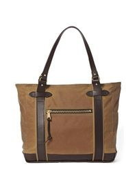 Filson | Brown 'meridian' Tote Bag | Lyst